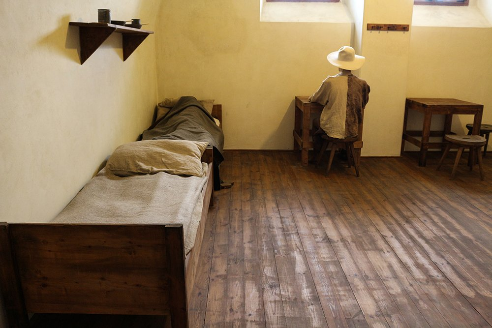 Things to do in Brno, Czech Republic, in 1 day | A cell in Spilberk Castle