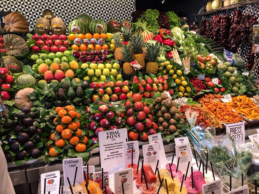 Things to do in Barcelona for free | Boqeria market