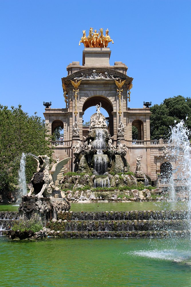 Things to do in Barcelona for free | Fountain in Ciutadella Park