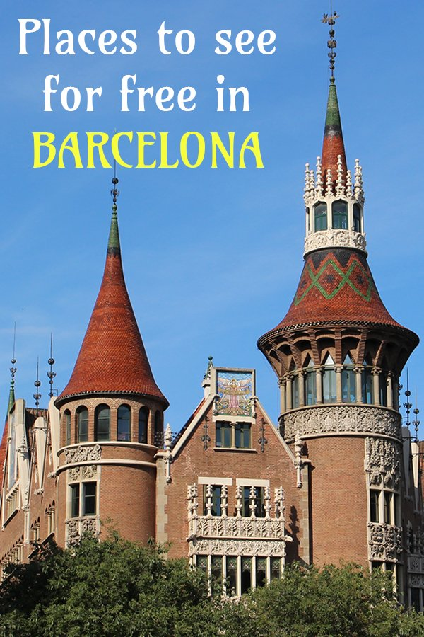 Things to do in Barcelona for free | Places to see for free in Barcelona | Free attractions in Barcelona | Places to visit for free in Barcelona