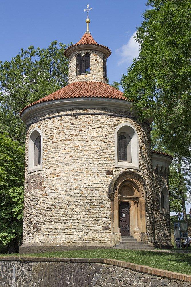 The Rotunda in Vysehrad in Prague