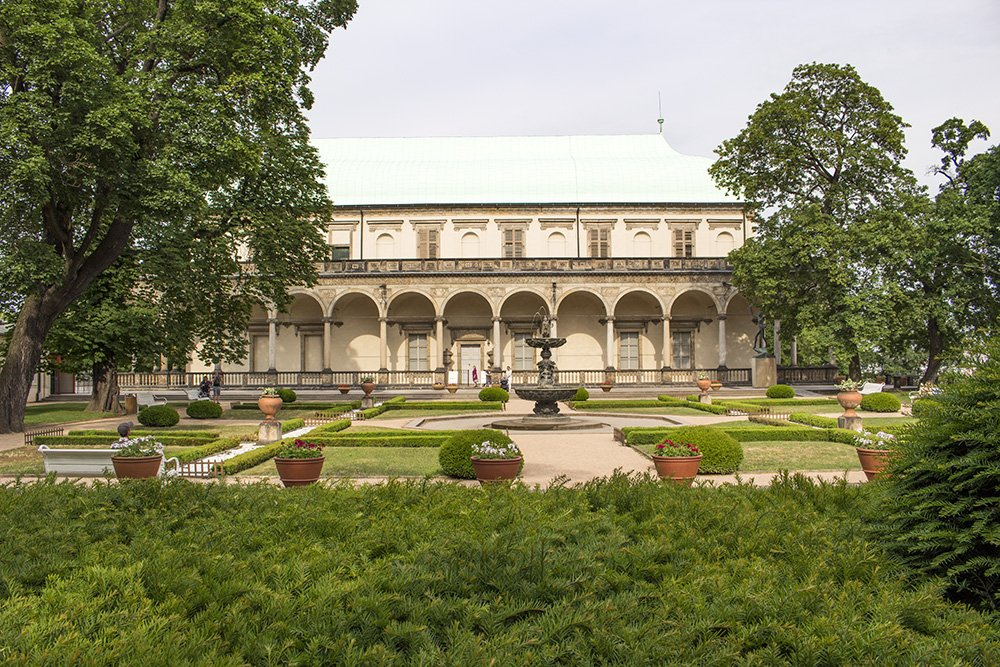 The Royal Garden in Prague Castle