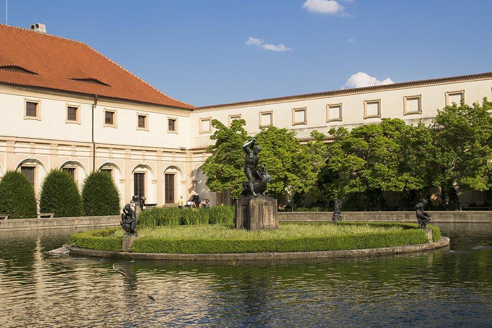 Что посмотреть в Праге: Вальдштейнские Сады