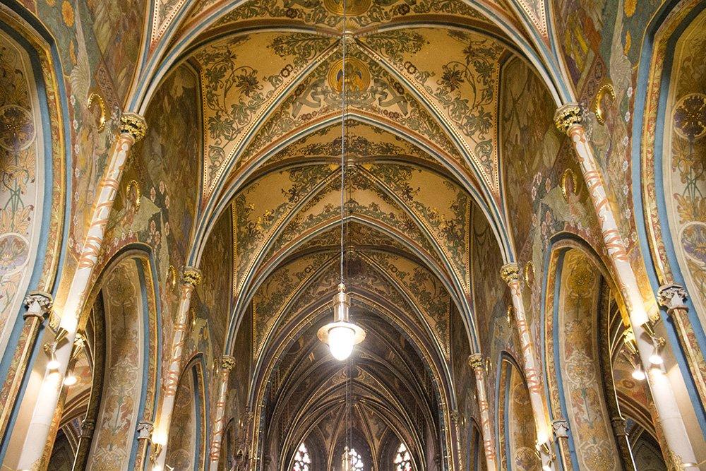 Внутри Собора Петра и Павла в Праге