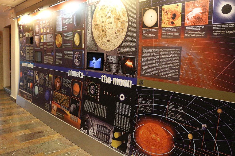 В обсерватории имени Штефаника в Праге