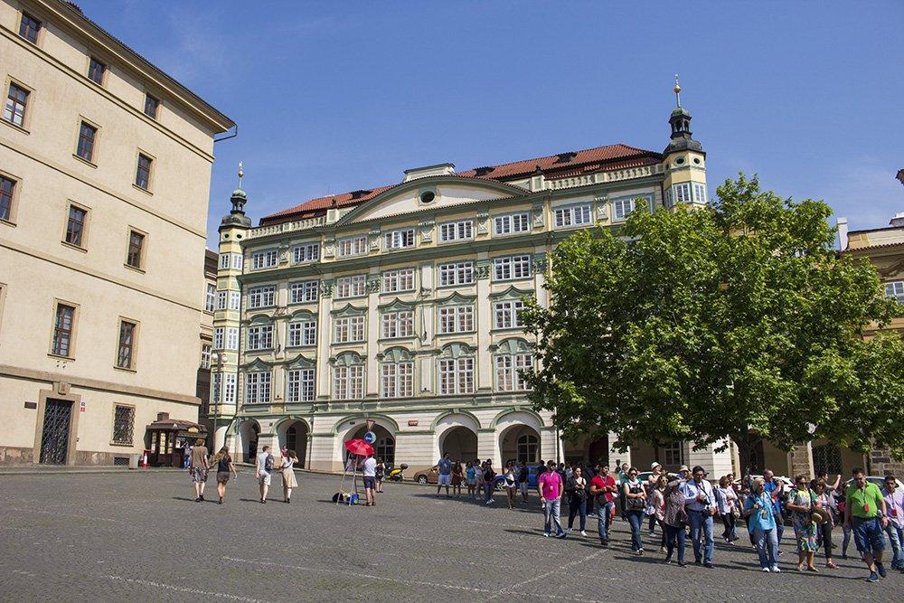 Достопримечательности Праги: Дворец в Мала Стране