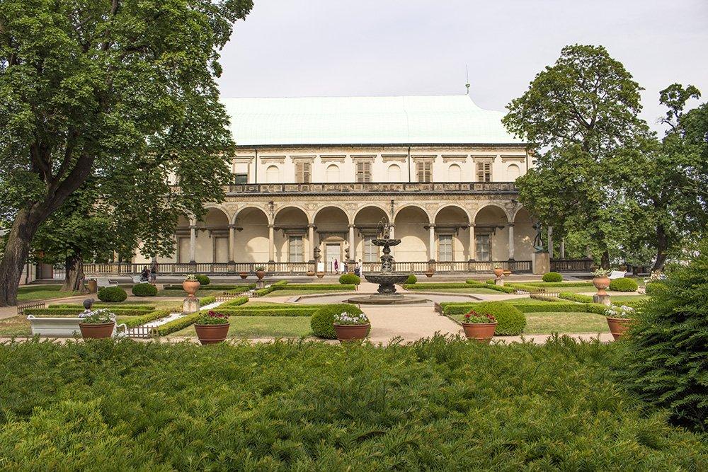 Достопримечательности Праги: Королевские сады в Пражском граде