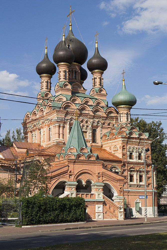 Church of the Holy Trinity in Ostankino in Moscow