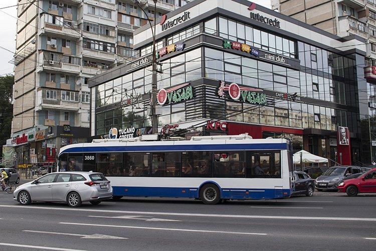 Chisinau public transport