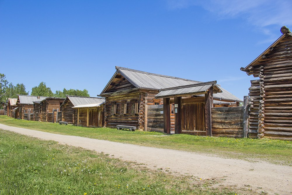 Taltsy Museum on a day trip from Irkutsk