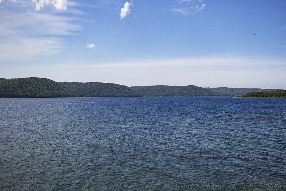 The Angara River