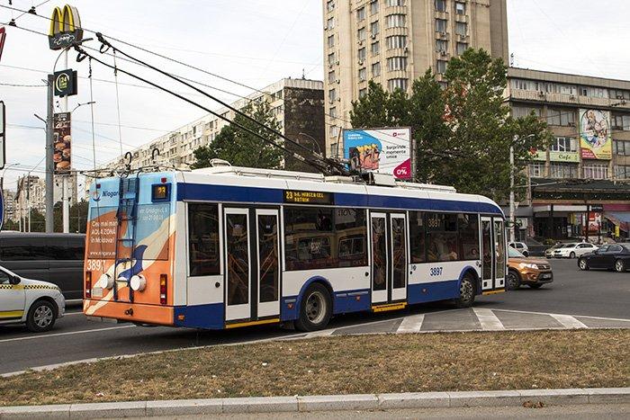 Trolleybuses in Chisinau
