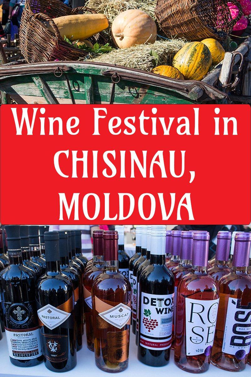 Wine Festival in Chisinau, Moldova | Wine Day in Chisinau, Moldova