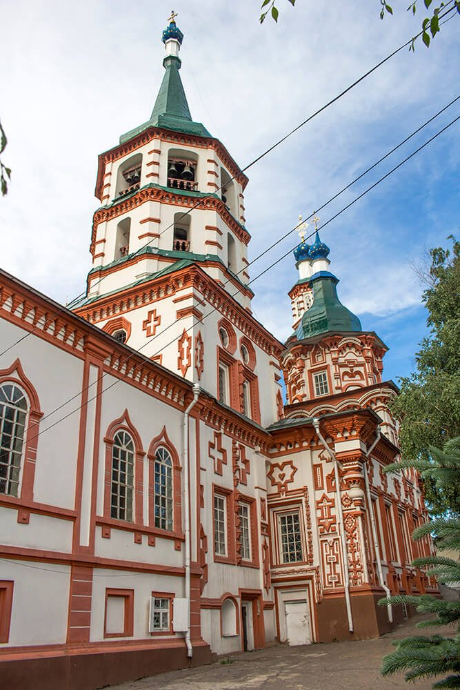 Church of the Exaltation of the Holy Cross in Irkutsk, Russia