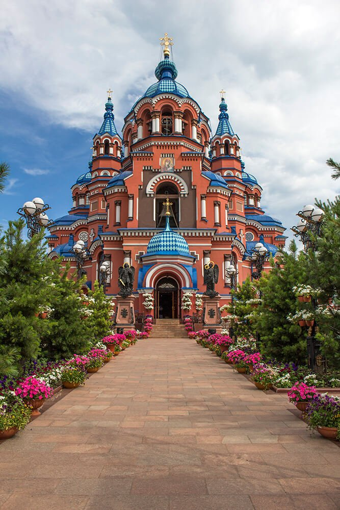 Kazan Church in Irkutsk, Russia