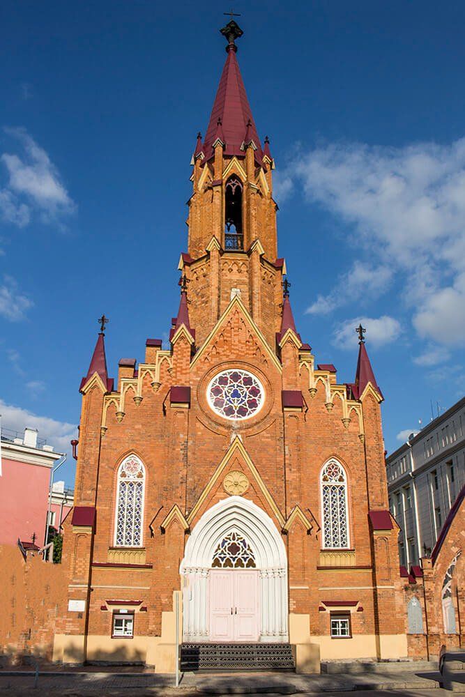 Roman Catholic Church in Irkutsk, Russia