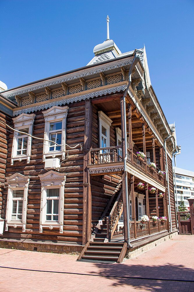What to do in Irkutsk: Shastin Mansion