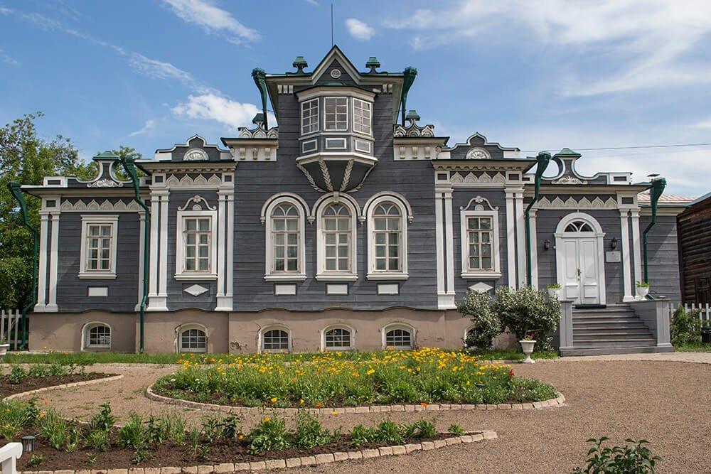 Trubetskoy House in Irkutsk, Russia