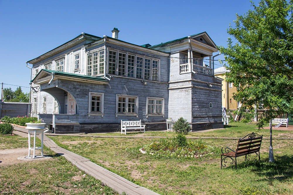 Volkonsky House in Irkutsk, Russia