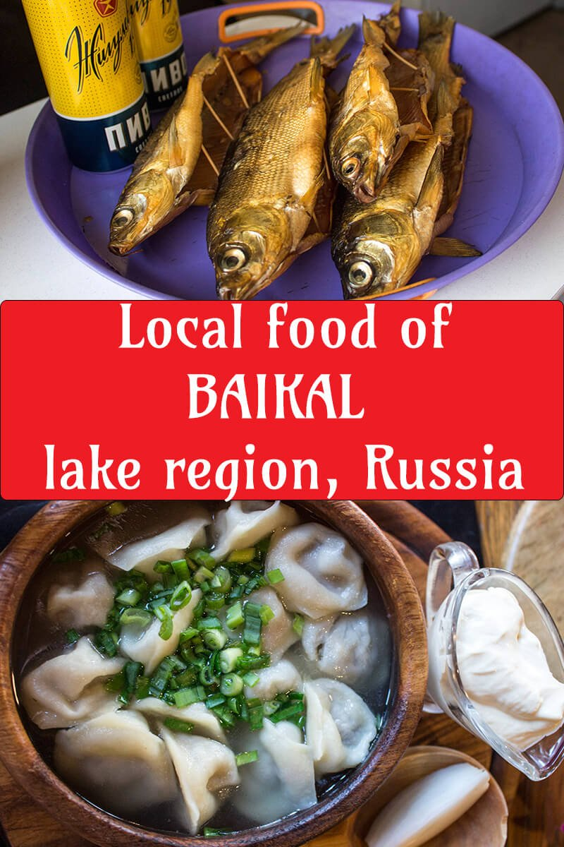 Local food around Baikal Lake, Russia | What to eat in Baikal Lake region, Russia | Travelling around Baikal Lake, Russia