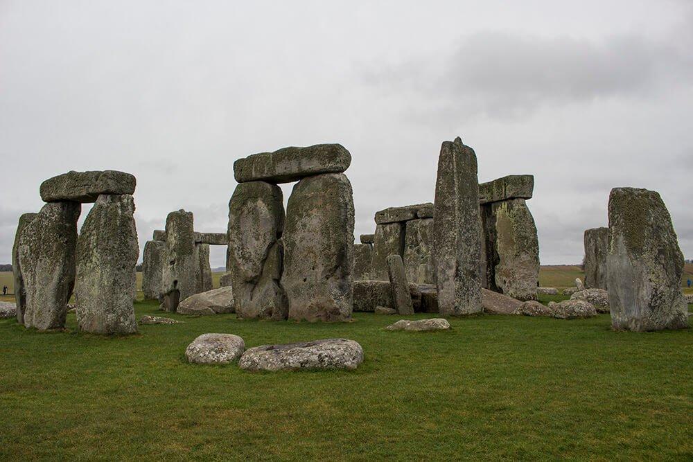 Stonehenge in February