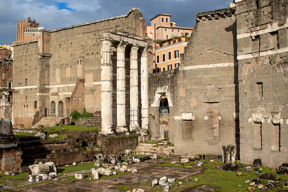 Forum of Augustus in Rome, Italy