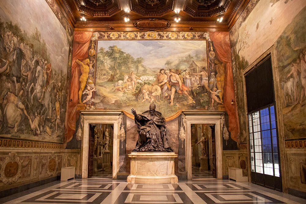 Inside the Capitoline Museums