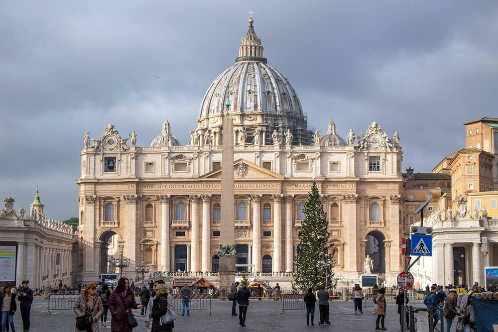 St Peters Cathedral in Rome, Italy