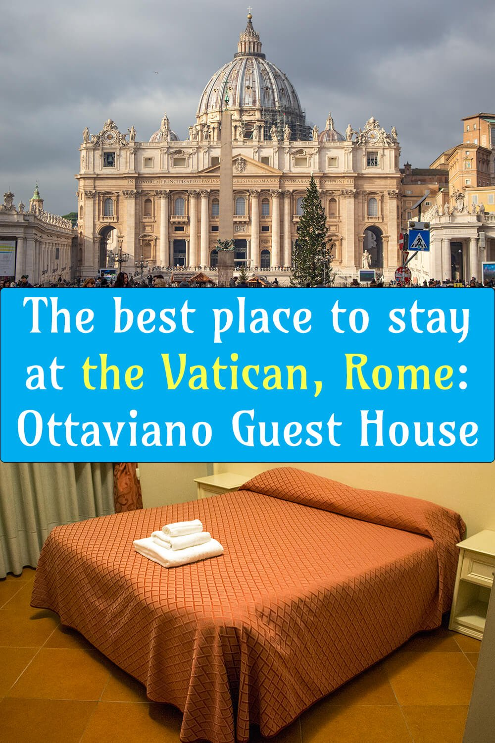 The best place to stay at the Vatican, Rome: Ottaviano Guest House | Where to stay in Rome: Ottaviano Guest House | The best hotel to stay at the Vatican, Rome: Ottaviano Guest House | The best hotel to stay in Rome: Ottaviano Guest House |