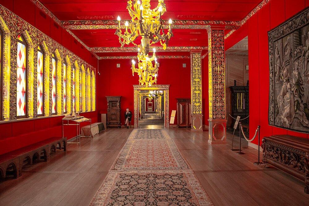 Inside Kolomenskoye Palace in Moscow