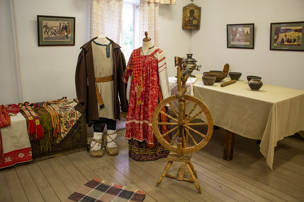 Inside the Museum in Kuzminki Blachernae