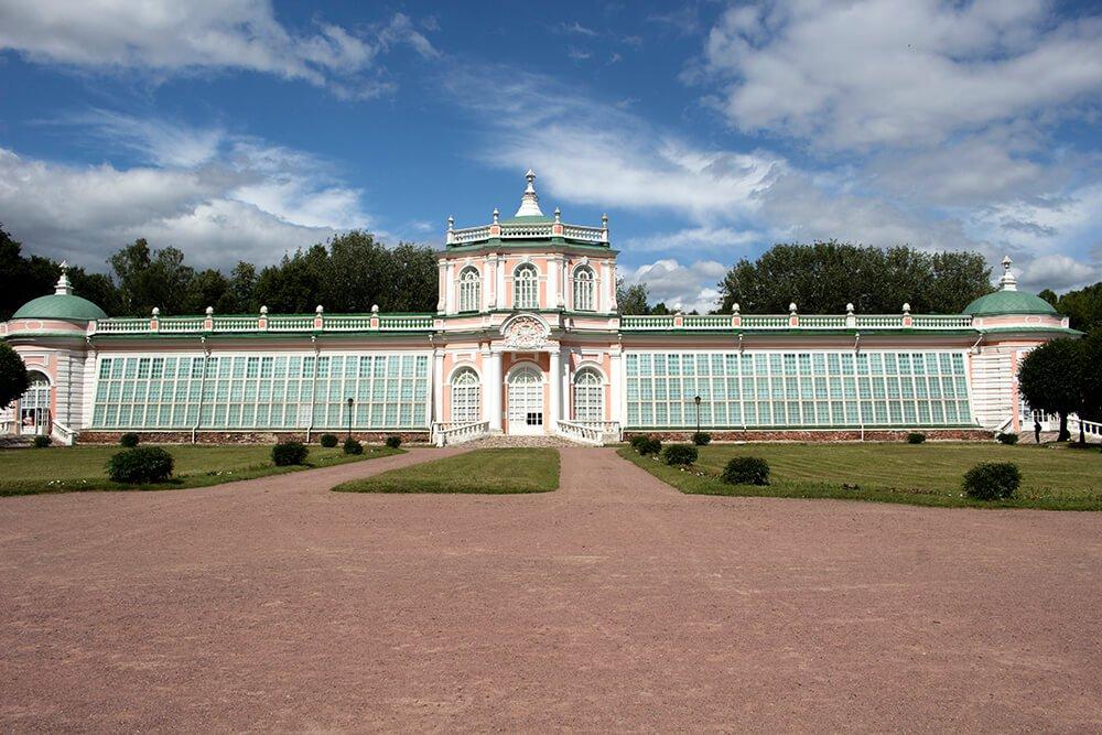 Orangery Building in Kuskovo, Moscow