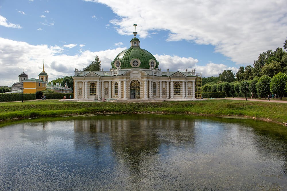 The Grotto in Kuskovo, Moscow