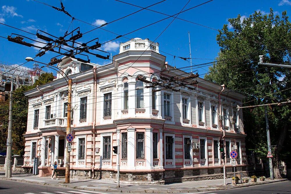 Building of Romanian Embassy in Chisinau, Moldova