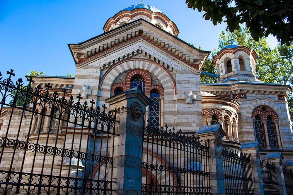 Church of St Panteleimon in Chisinau, Moldova