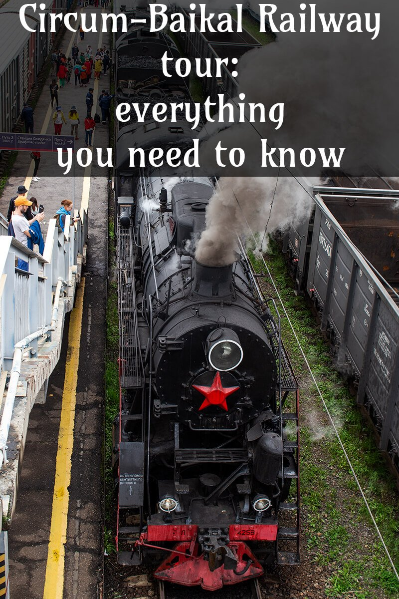 Everything about Circum Baikal Railway tour