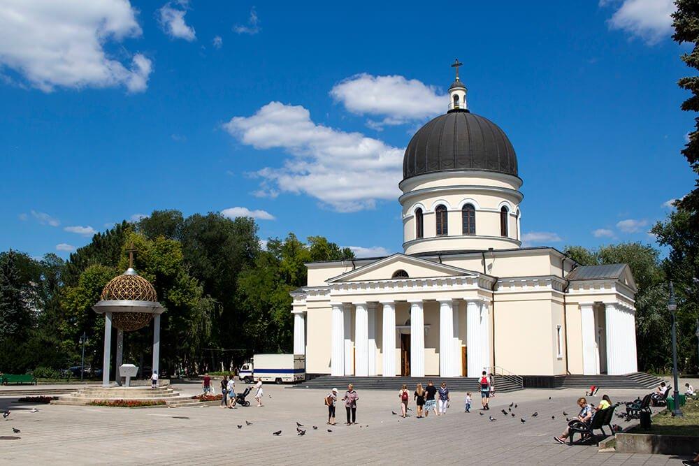 Nativity Cathedral in Chisinau, Moldova