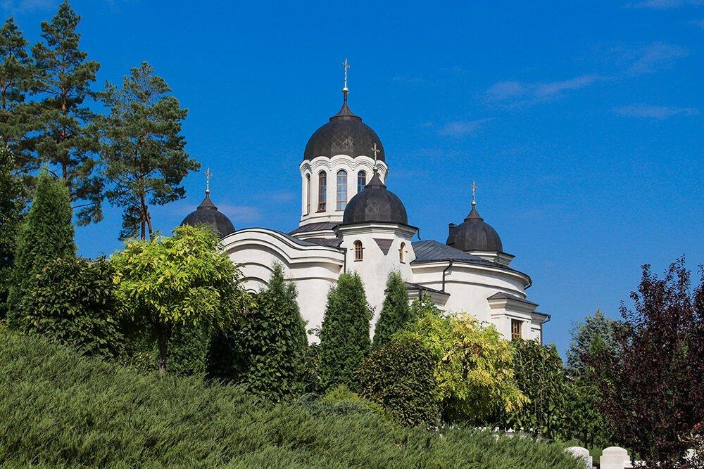 Curchi Monastery in Moldova